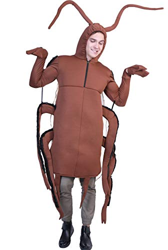 Honeystore Unisex Animal Funny Halloween Party Cosplay Dress Up Brown