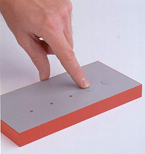 18mm Self Adhesive Screw Cover Caps Stick on Furniture Sticker Screw Hole Premium Quality White x72