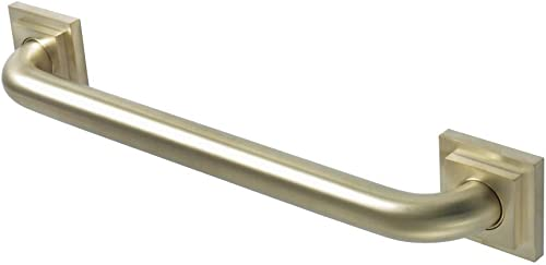 Kingston Brass DR614167 Claremont 16 Decorative Grab Bar, Brushed Brass