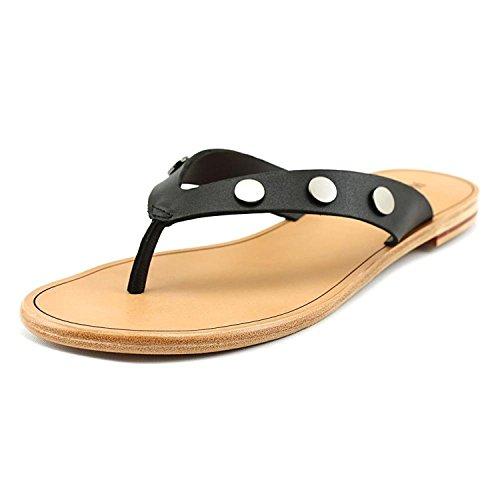 Hammitt Gunmetal Womens Leather Casual Black Winston Open Toe r41rn