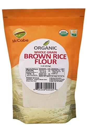 (McCabe Organic Brown Rice Flour, 1-Pound)