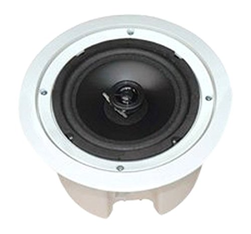 Pyle Home PDPC82 8-Inch In-Ceiling 2-Way Flush Mount Enclosure Speaker System by Pyle
