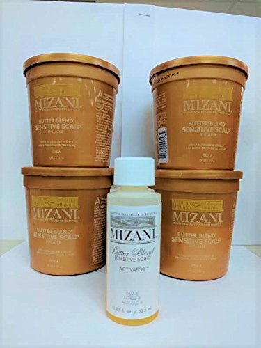 Mizani BUTTER BLEND Sensitive Scalp 4 APPLICATION - Sensitive Scalp Mizani