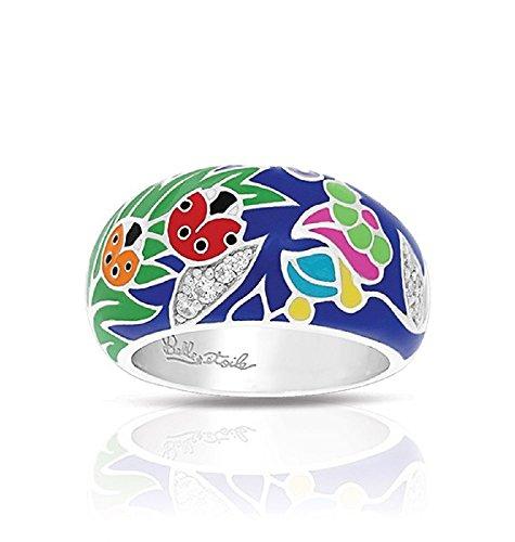 Belle Etoile: LadyBug Blue & Multi Ring