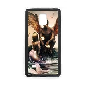 Samsung galaxy note 4 N9100 Little mermaid Phone Back Case Custom Art Print Design Hard Shell Protection FG092483