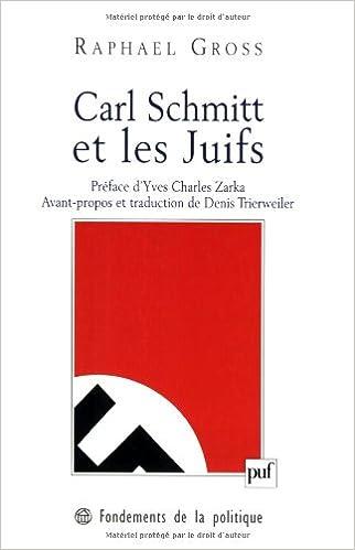 En ligne téléchargement Carl Schmitt et les Juifs pdf, epub