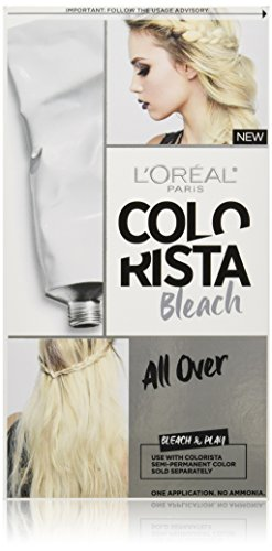 L'Oreal Paris Colorista Bleach, All Over (B4 Hair Colour Remover Before And After)