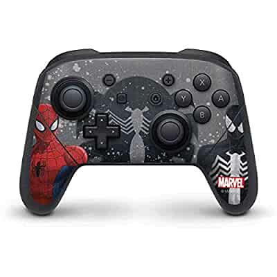 Amazon.com: Skinit Red and Black Spider-Man Nintendo
