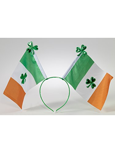 Irish Flag Boppers Headband Party Accessory -