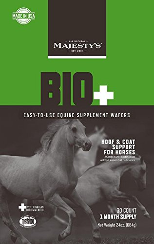 Majesty's Bio Plus Wafer Supplement, 30-Count