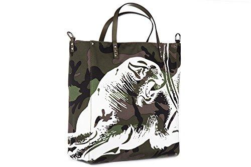 Valentino sac à main homme camouflage vert
