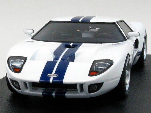 1/43 フォードGT コンセプト ホワイト/ブルーストライプ 8443