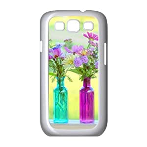 Beautiful Wildflowers Personalized Cover Case with Hard Shell Protection for Samsung Galaxy S3 I9300 Case lxa#423288 hjbrhga1544