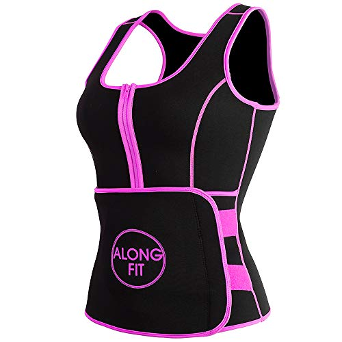 Fit Trainer - ALONG FIT Waist Trainer for Women Neoprene Sauna Sweat Vest for Weight Loss