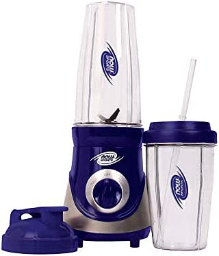 Now Sports Nutrition, Personal Blender with Two BPA-Free and Dishwasher-Safe Cups and Lids, 300 Watt, 1-Blender