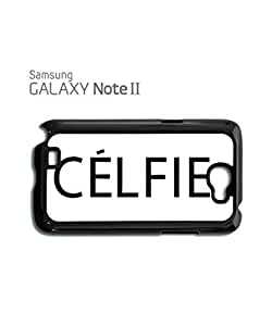 Celfie Selfie Tumblr Meow Mobile Cell Phone Case Samsung Note 2 Black