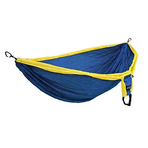Eagles Nest Outfitters Double Deluxe Hammock Sapphire/Yellow, One Size