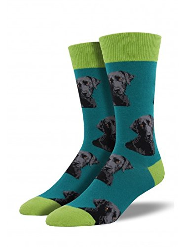 Socksmith Men's Lab-Or of Love Teal ()