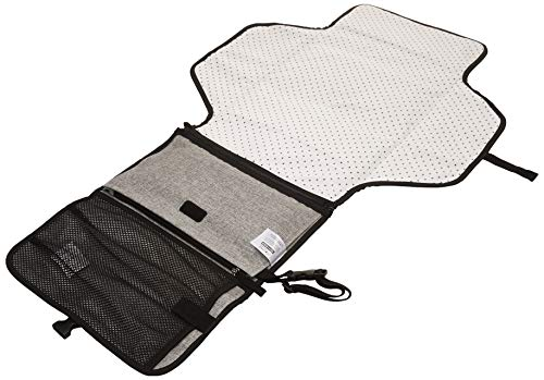 Skip Hop Pronto Signature Portable Changing Mat, Cushioned Diaper Changing Pad with Built-in Pillow, Grey Melange by Skip Hop (Image #11)