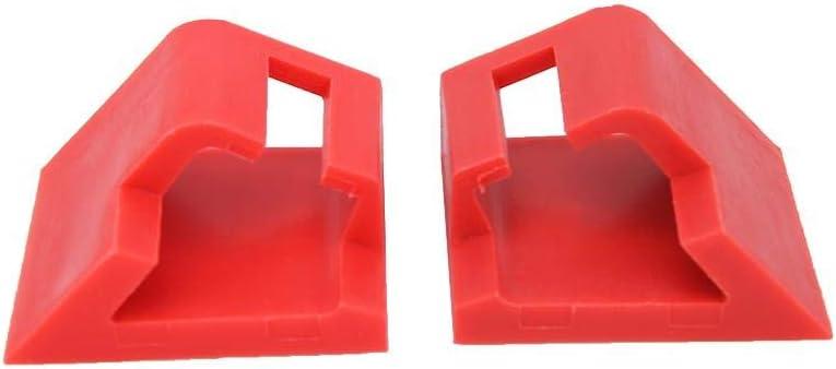 Clip de poign/ée de hayon 2 pi/èces Kit de clip cass/é de r/éparation de poign/ée de coffre de hayon adapt/é pour Nis/_san Qashqai 2006-2013