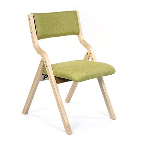 Natural Couleur Frame2  bois Chaise Pliante Chaise Maison Minimaliste Moderne Chaise de Salle à Manger Fauteuil Café Chaise de Loisirs en Bois Adulte à Titre Individuel (Couleur   marron frame9)