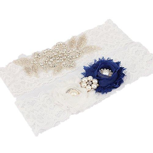 Sale Handmade Wedding Garter - TRLYC 2