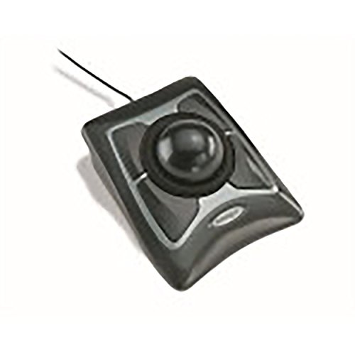 Price comparison product image Kensington Trackball Expert Mouse,  ScrollRing,  Black / Silver