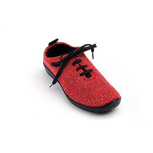 Arcopedico 1151 Ls Dames Oxford Schoenen Rode Sterrennacht
