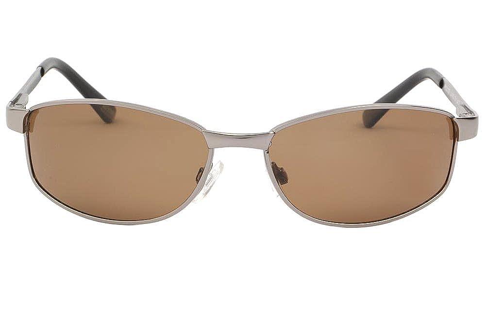 Lunette soleil Sport polarisée argent verre marron Stan - Mixte  Amazon.fr   Vêtements et accessoires 656ab06cd180