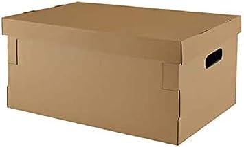 Criscolor 8436539070535 070535 Caja Automontable con Tapa, 45 x 35 x 20 cm Pack 5 Unidades: Amazon.es: Bricolaje y herramientas