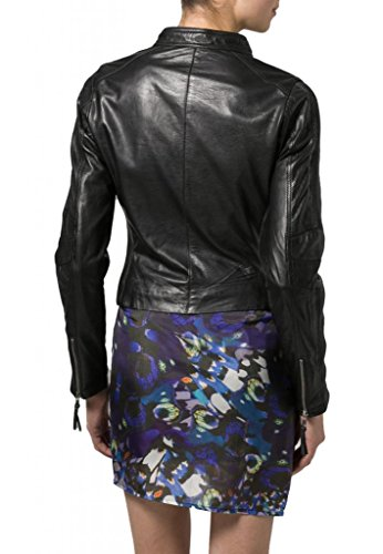 Nero Donna Leather Giacca Junction Leather Junction w7fpxgfC