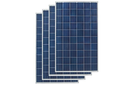 Grape Solar GS-P60-265-Fab2x4 Polycrystalline Solar Panel (4 Pack), 265W by Grape Solar