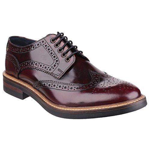 BASE Wolburn Mens Shoes (10 US) (Bordeaux Hi Shine) by BASE