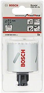Bosch Professional 2608584635 PROGRESSOR Holesaw 51, Blue, 51 mm
