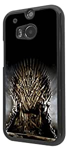449 - Game of throne iron throne Design For htc One M8 Fashion Trend CASE Back COVER Plastic&Thin Metal