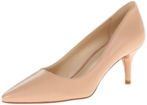 Nine West Women's Margot Dress Pump, Naturale Leather, 41.5 B(M) EU/8.5 B(M) UK