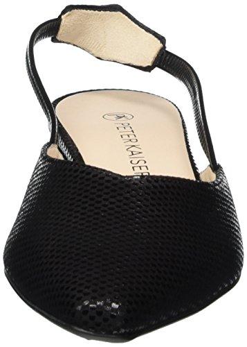 Tira Tobillo Peter Para De Carsta Zapatos Negro Con Mujer schwarz 417 Cube Kaiser nxYqOI6qB
