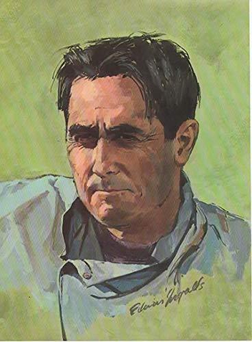 - Magazine Print Article, Illustration: Formula 1 Race Car Driver Jack Brabham,