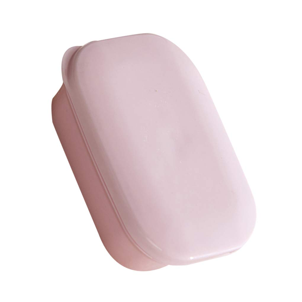 OmkuwlQ Portable Travel Handmade Soap Box Drain Bathroom Case Waterproof Leakproof Mini Plastic Holder by OmkuwlQ (Image #3)