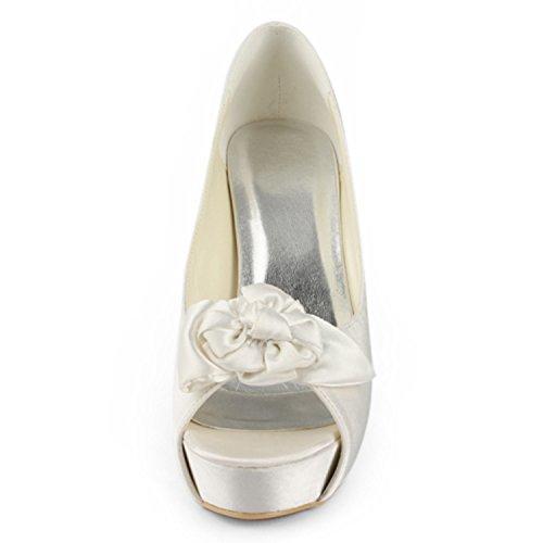 Femme Heel 13cm Minitoo Ivory Pour Escarpins pFwFxqP6