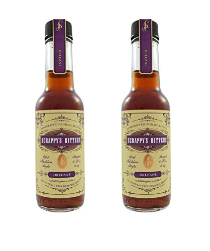 0.5 Ounce Pourer (Scrappy's Bitters, Orleans, 2 Pack)