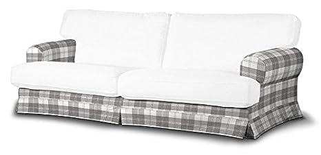Dekoria Fire retarding IKEA EKESKOG sofá cubierta - gris y ...