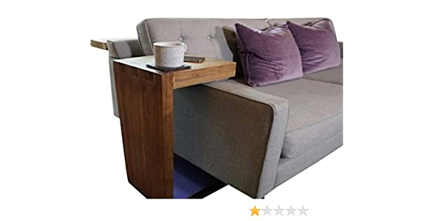 Planes de mesa auxiliar, en forma de C, para sofá, sobre brazos, mesa de revistas: Amazon.es: Bricolaje y herramientas
