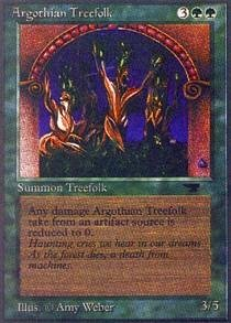 Magic: the Gathering - Argothian Treefolk - Antiquities