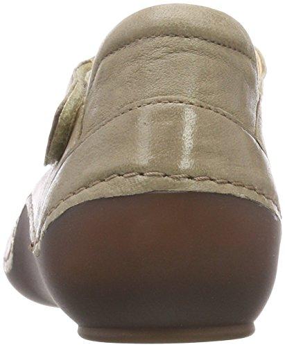 Kapsl 24 Think Macchiato Ankle Women's Flats 282060 Ballet Strap Beige Rxf5Fqx
