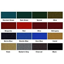 Standard Green Mali 865 Bumper Pool Table Cloth Felt, Model: , Sport & Outdoor by Tools Supply