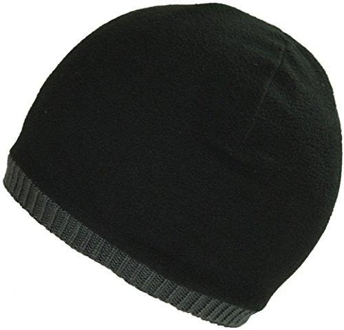 Beanie terciopelo gris cálido estilo hombres clásico diaria Hat Skull BaronHong oscuro Cap los para AwqtX4Wx