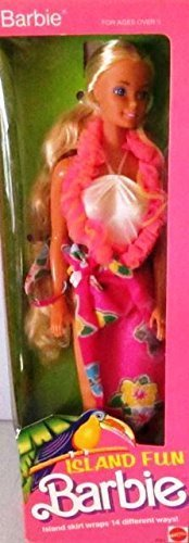 "Vintage Collectable Barbie ""Island Fun"" doll - Circa 1987"