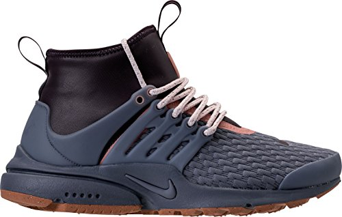 NIKE W Air Presto Mid Utility PRM Mens Fashion-Sneakers AA0674 Light Carbon/Light Carbon-port Wine wholesale price online free shipping fashionable sale for sale p1kcAyhPB5