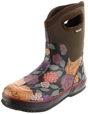 Amazon.com | Bogs Women's Classic Mid Jardin Rain Boot